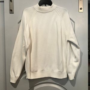 Vintage Land's End 100% cotton drifter sweater